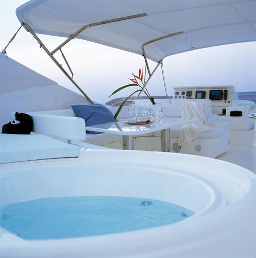 Yacht Ferretti 880 - fly bridge -