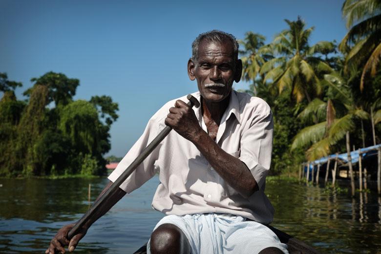 Kerala, India - pescatore