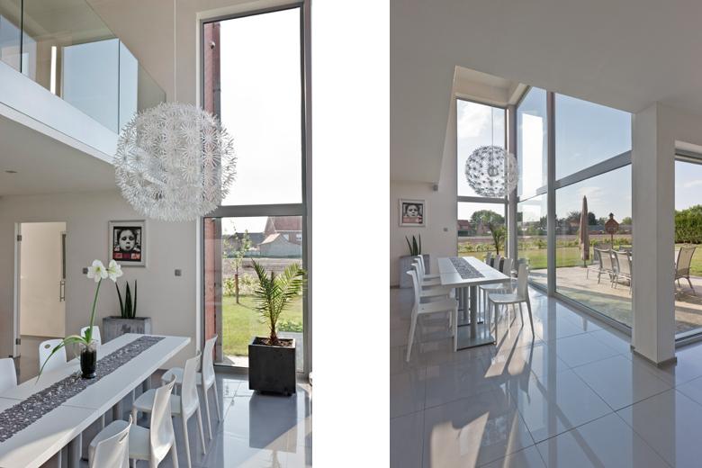 Villa monofamiliare a Balen in Belgio, dining and loft