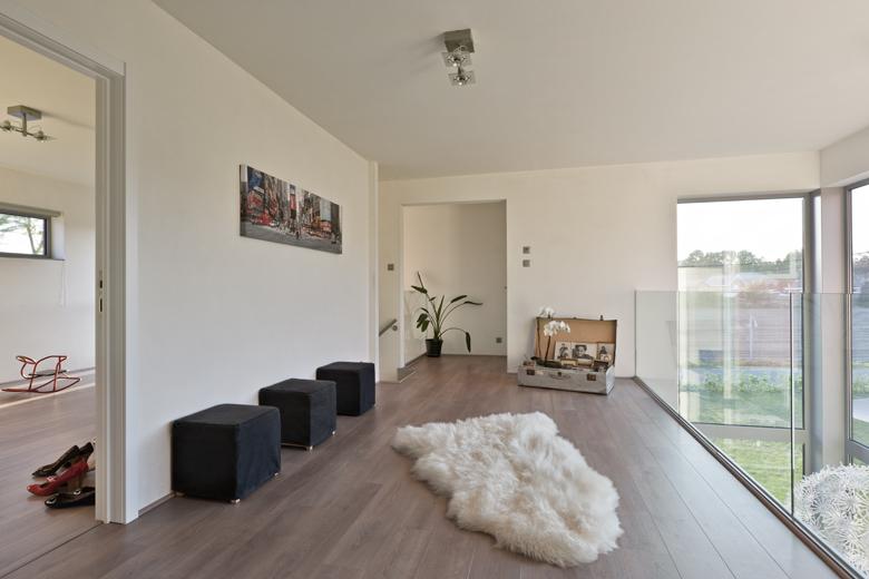 Villa monofamiliare a Balen in Belgio, stair to the loft