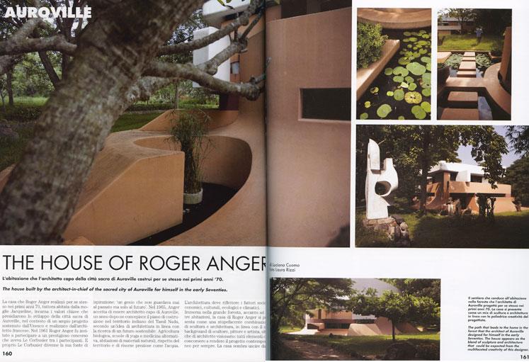 Auroville, Roger Anger's house